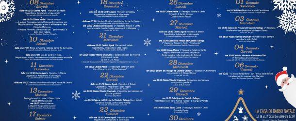 S.Agata Militello: Presentato il programma per le festività natalizie.