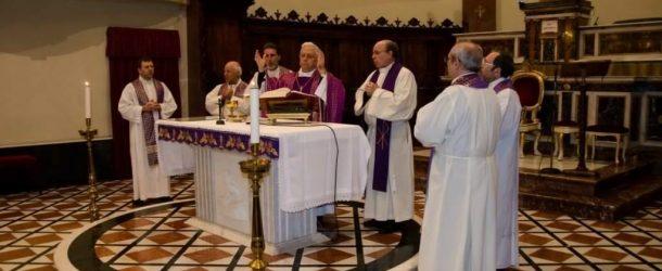 S.Agata Militello: Monsignor Ignazio Zambito saluta e ringrazia la comunità santagatese