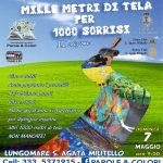 """S.Agata Militello: Domenica 7 maggio sul lungomare """"Mille metri di tela per 1000 sorrisi"""""""