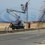 S.Agata Militello:  Impianto di illuminazione a Giancola, avviati i lavori – LE FOTO –