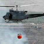 Capizzi: Elicottero della Marina a supporto delle operazioni antincendio