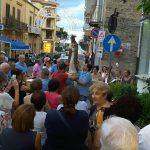 S.Agata Militello: Restaurata la statua del Sacro Cuore di via Campidoglio – LE FOTO