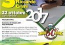 Capo d'Orlando: Domenica 22 ottobre il 3° memorial Riccardo Crimi