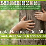 """I Comuni Fioriti della Sicilia """"insieme"""" per la Giornata dell'albero."""