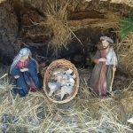 Naso:Distrutta nel presepe la statua di Gesù bambino