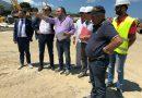 S.Agata Militello: Sopralluogo del sindaco Mancuso e dell'assessore Befumo al cantiere del Porto