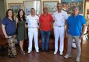 Capo d'Orlando: Il Sindaco Ingrillí incontra il nuovo titolare dell'Ufficio Locale Marittimo