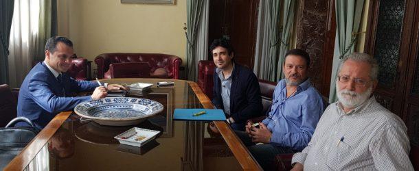 Masterplan, riunione con il sindaco di Monforte San Giorgio, Giuseppe Cannistrà, sulla realizzazione dello svincolo autostradale