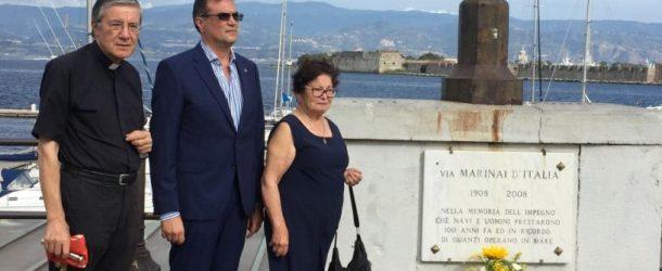 """L'affondamento della Corazzata """"Roma"""" 75° anniversario, a Messina deposizione di una corona di fiori e seminario a Palazzo dei Leoni"""